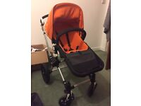 Bugaboo pram/buggy in excellent condition. Comes with under carriage storage, rain cover and cup.