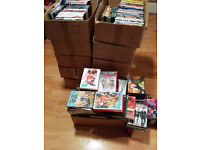 Massive Dvd Collection Wholesale Over 700 Dvds All R2 All great Titles Action Comedy Kids horror