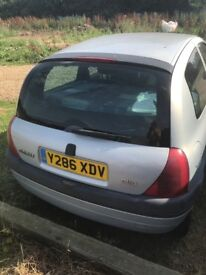 LHD Renault Clio Van Diesel SOLD
