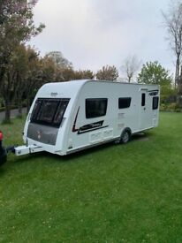 2014 Eliddis Affinity 530 3 berth single axle caravan