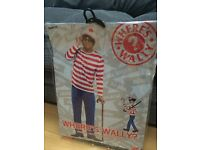 Men's Where's Wally outfit (M) individual or set of 3