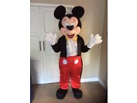 UK SELLER look alike brand new micky Mouse delux Professional Mascot Costume fancy dress