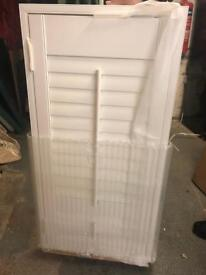 New White Plantation Shutter 509x1010mm