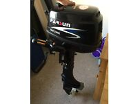 Parsun 5hp outboard. Brand new with invoices. Originally cost £696 now looking for £500