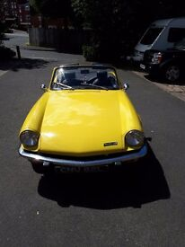 Triumph Spitfire 1300, excellent condition, fully working fantastic car.