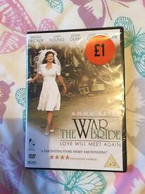 The war bride DVD *new*