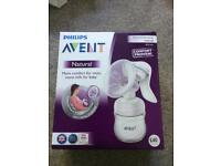 BRAND NEW Philips Avent Natural breast pump manual in sealed box