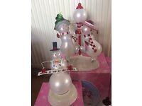christmas colour change musical ornaments
