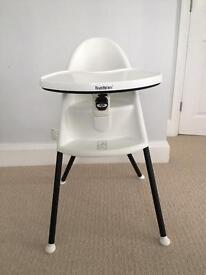 Baby horn High Chair (white)