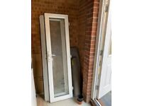 Brand new outside kitchen and lounge doors - new build