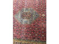 Handmade wool rug in good condition