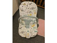 Mammas and Pappas baby bouncer chair