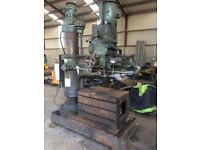 4' radial arm drill