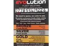 EVOLUTION FLEET VALETING MOBILE VALETING SPECILAISTS