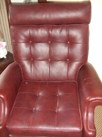 Early 70s Parker Knoll recliner chair.