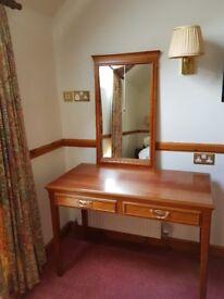 Quality 2 drawer dressing table/desk