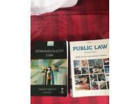 Degree level Law textbooks