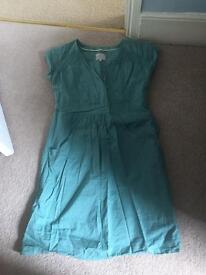 Joules turquoise dress size 12