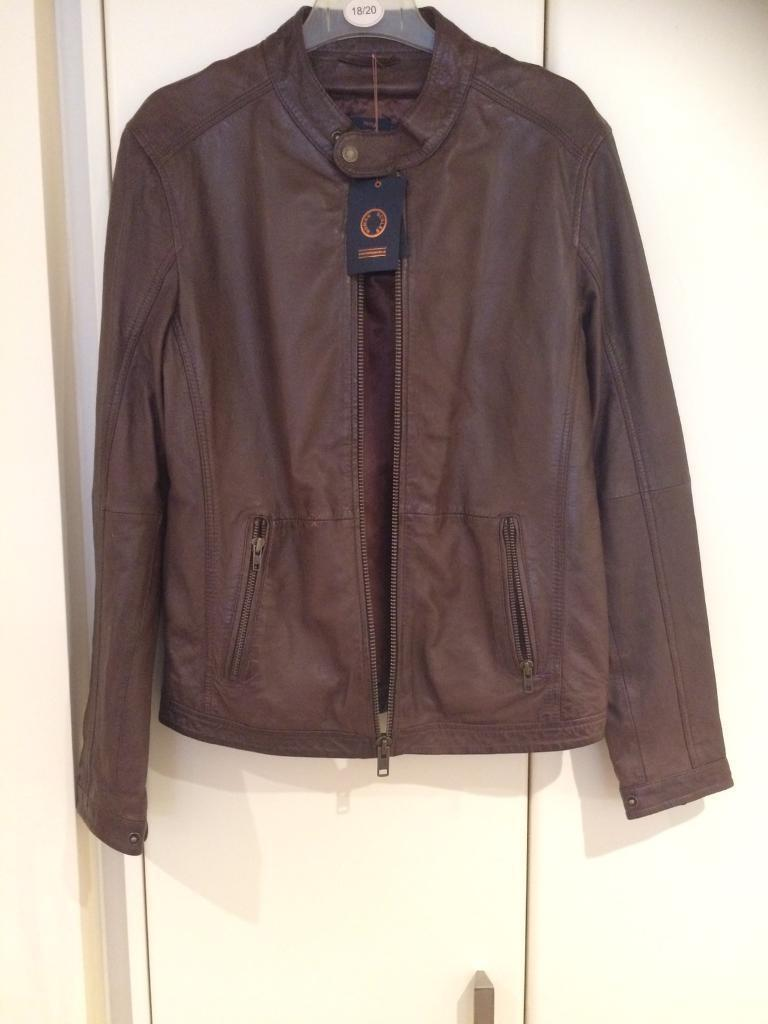 Human Scales brown leather jacket size medium brand newin Penarth, Vale of GlamorganGumtree - Human Scales brown leather jacket brand new with tags £250rrp receipt to prove genuine