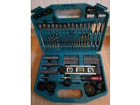 New Genuine Makita Tool Set Power Drill Drilling and Driving Kit