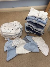 Baby Grows, Vests & hats - First Size