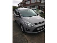 Ford CMax 1.6 Zetec 5dr. AIR CON, ISOFIX, BLUE TOOTH, PARKING SENSORS. FULL DEALER SERVICE HISTORY
