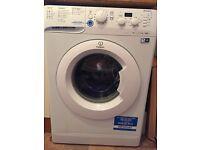 Indesit washing machine 7kg 1400rpm less than 1 year old
