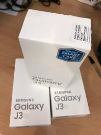 Samsung Galaxy J3 6 Black White & Gold Sim Free 4G Unlocked (Dual Sim) New Sealed box