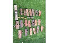 Vintage wooden planes