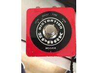 Mooer (spark) distortion pedal