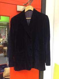 Turnbull Asser - Dark Blue Velvet Jacket