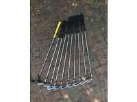 Wilson Staff Ladies Left-handed Irons Set plus Ping Driver