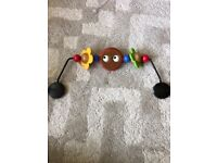 BabyBjorn googly eyes toy bar for Baby Bjorn bouncer seat