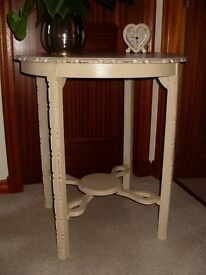 Occasional Table painted in Annie Sloan Chalk Paint - Old Ochre