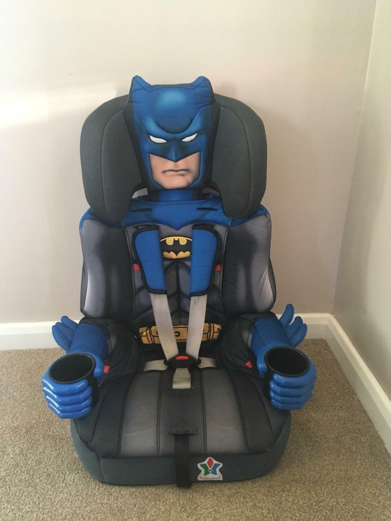 Kids Embrace Group 2//3 Child Booster Seat /'Batman/'