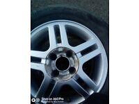 Ford 4 stud 15 inch alloy wheels