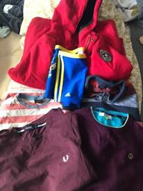 Clothes Bundle Boys 11-12 Fat Face Ted Baker Fred Perry