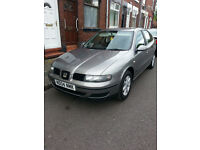 Seat Leon S 1.6 Petrol,5 Door Manual 1 Year mot,(Audi,VW,Skoda).