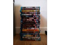 Mixed selection of Blue ray films 19 in Total