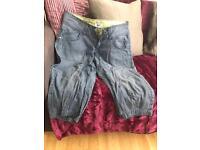 Selection of designer jeans