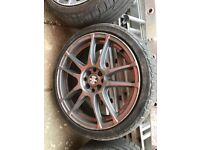 """Ford - 17"""" FIREMAX alloy and tyres"""