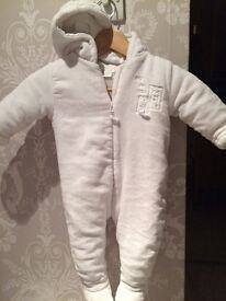Mamas and papas outdoor suit 9-12 months