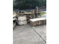 FREE - Clean dry wood - ideal for firewood for your bonfire!
