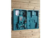 Makita 18v drill, fast charge and carry case - no battery