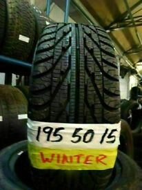 "BRAND NEW WINTR TYRES*OPN 7-DYS FUL SET ANY 15"" BRAND NEW WINTR TYRES £80 PAIR £130 SET SUP & FITD"
