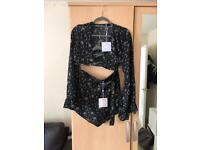 Missguided Shorts & Top co-ord - new, tags on
