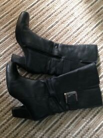 Clarks ladies boots - size 8