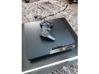 Playstation 3 slim custom with home brew 3.55/4.81cfw plus controller