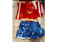 Wonder Woman fancy dress costume Large