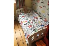 John Lewis White Rachel style toddler bed